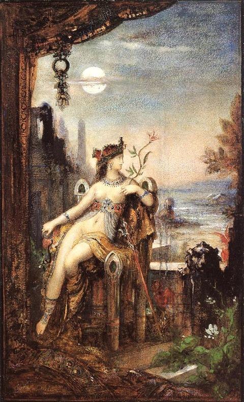 Cleopatra 1887  Gustave Moreau