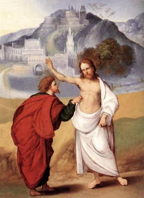 Ludovico Mazzolino The Incredulity of St Thomas