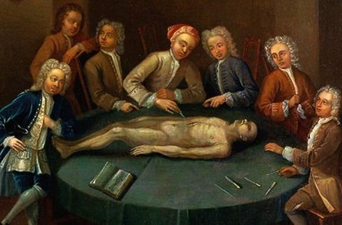 William Cheselden  Painting Charles Phillips 1730