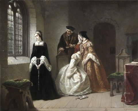 Jane Grey by Hendrik Jacobus Scholten