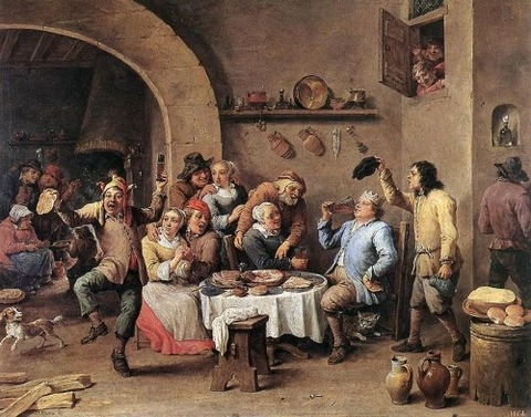 David_Teniers_(II)_-_Twelfth-night_(The_King_Drinks)