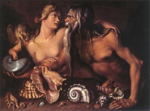 Neptune and Amphitrite Jacob de Gheyn II latter 16th