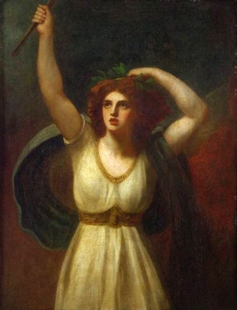 Lady Hamilton as Cassandra by George Romney