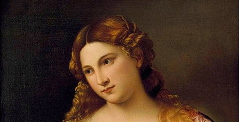 Flora, por Tiziano 1515-17 -