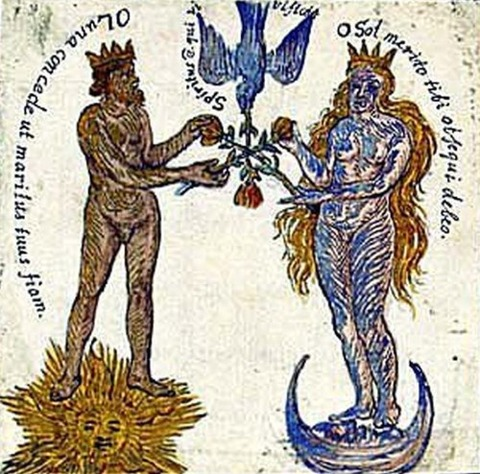 The Rosarium Philosophorum, 1550