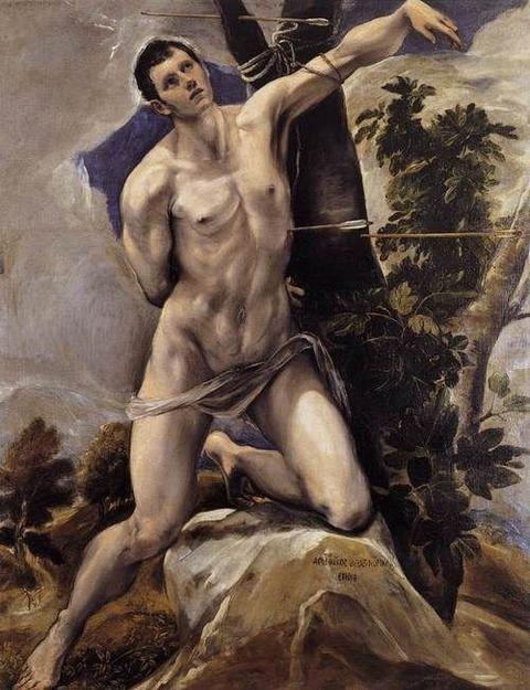 St-Sebastian, El Greco