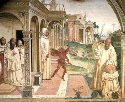 悪魔の絵画聖ベネディクト