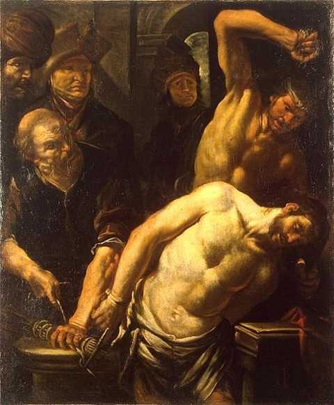 Gioacchino Assereto - Mocking of Christ  1640
