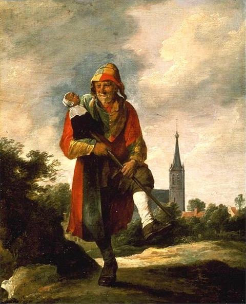 David Teniers (II) jester   1640