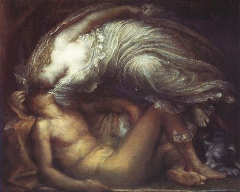 George Frederick Watts Endymion art painting