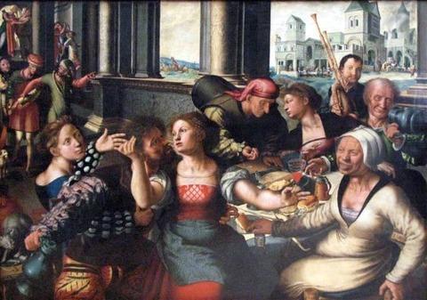 Jan van Hemessen 1536