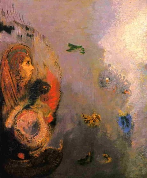 Oannes by Odilon Redon