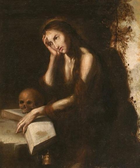 Magdalena Anònim castellà  XVII