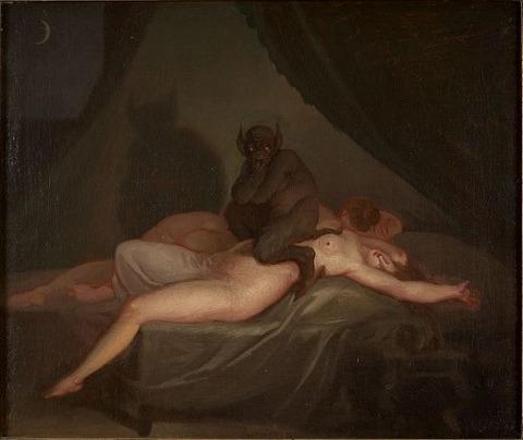Nightmare (1800)  Nicolai Abraham Abildgaard