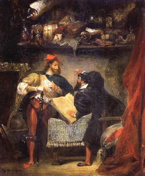 Eugene Delacroix 1826-27