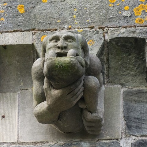 Paisley_Abbey_New_Gargoyles (3)