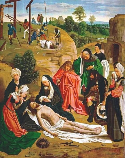 トット・シント・ヤンス キリストの哀悼 1484
