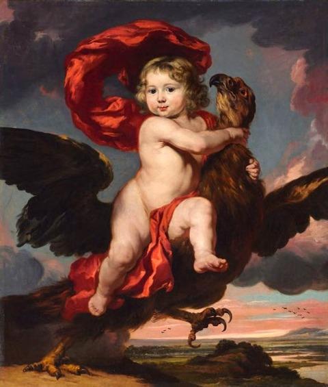 Nicolaes Maes 1634-93  George Bredehoff de Vicq  Ganymede