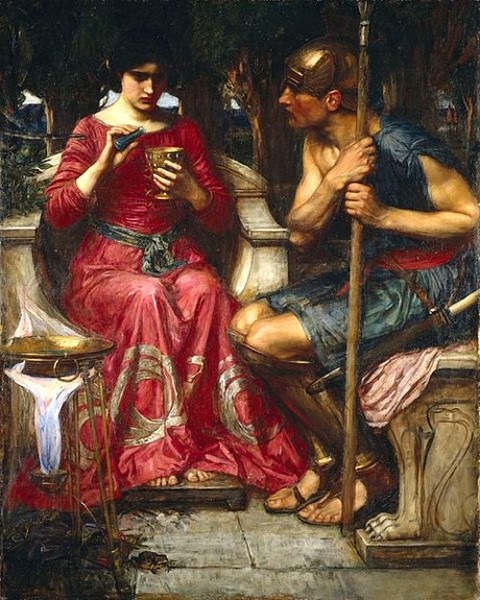 Jason and Medea - John William Waterhouse 1907