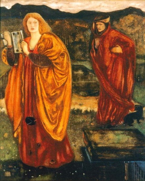 Merlin and Nimue by Edward Burne-Jones
