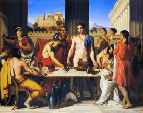 Jean-Hippolyte Flandrin Theseus Recognized by his Father 1832