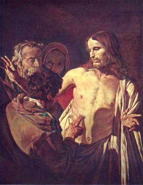 Honthorst, Gerard van Der ungläubige Thomas