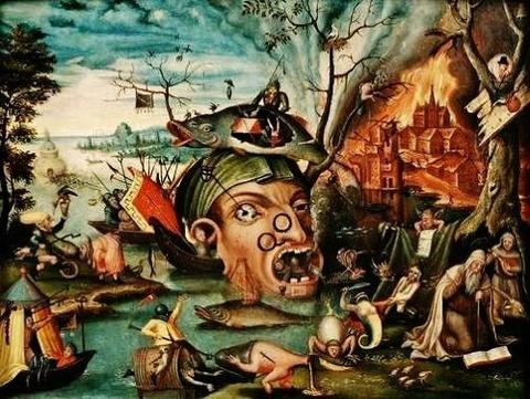 Jan Mandijn - The Temptation of Saint Anthony