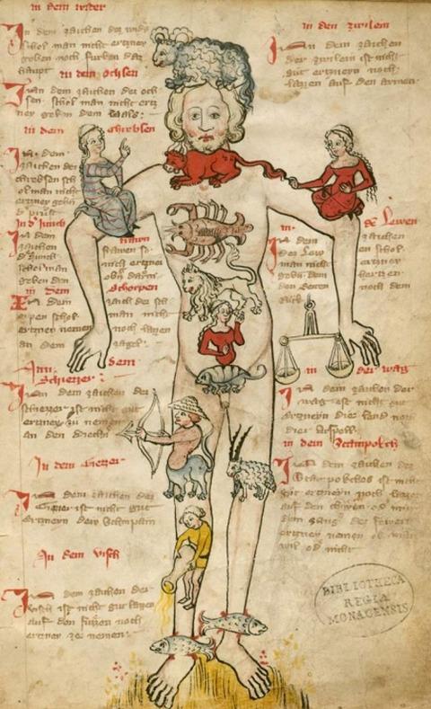 Kalender und Praktika auf die Jahre 1368 - 1405