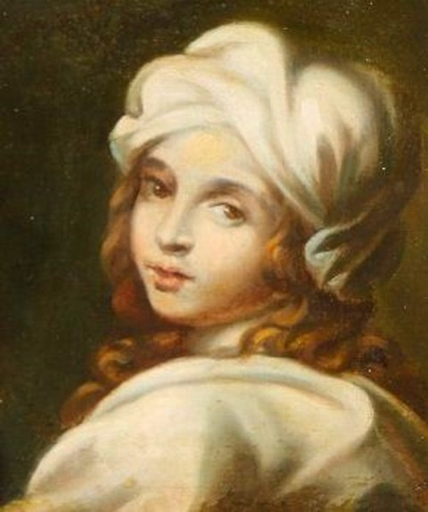 School of Guido Reni (18th) - Portrait Beatrice Cenci