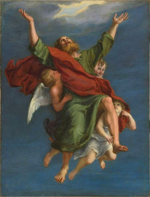Ecstasy of St Paul – Domenichino