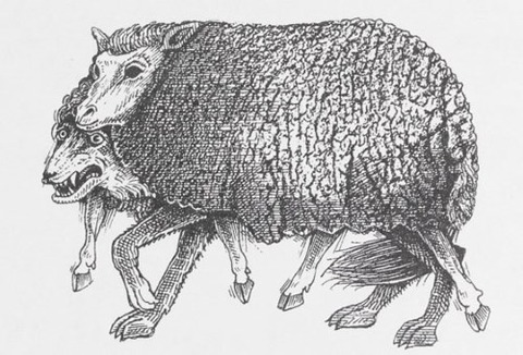 John Vernon Lord The Wolf in Sheep's Clothing  Aesop's Fables