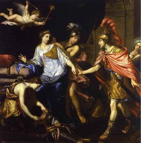 Amazones attribué à Pierre Mignard 1660