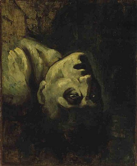 The Head of Drowned Man by Théodore Géricault  1819