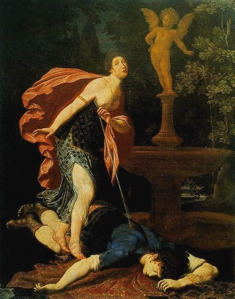 Pyramus and Thisbe by Gregorio Pagani 1558-1605