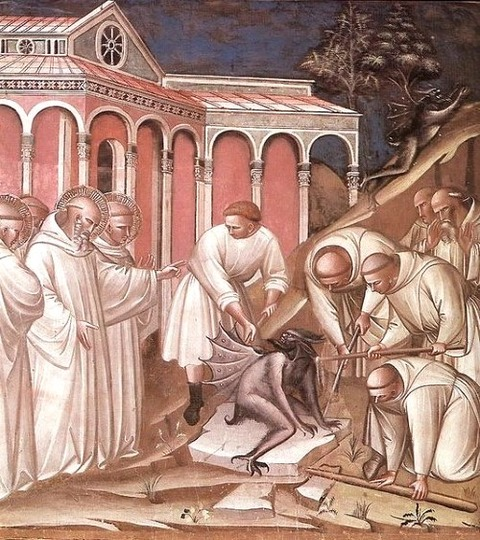 Spinello Aretino St Benedict 1350-1410