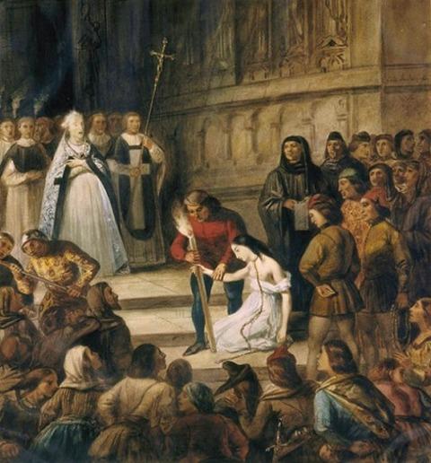 Louis Boulanger, L'amende honorable, 1833