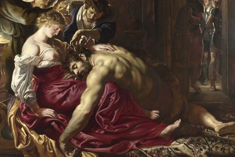 Peter Paul Rubens - Samson and Delilah, 1609