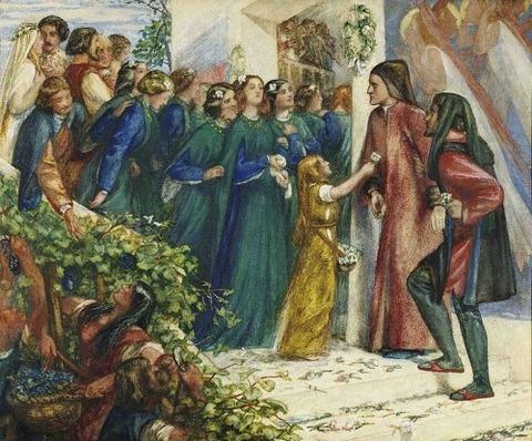 Dante Gabriel Rossetti -  1852