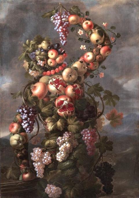 Giovanni Stanchi - Four Anthropomorphic Figures