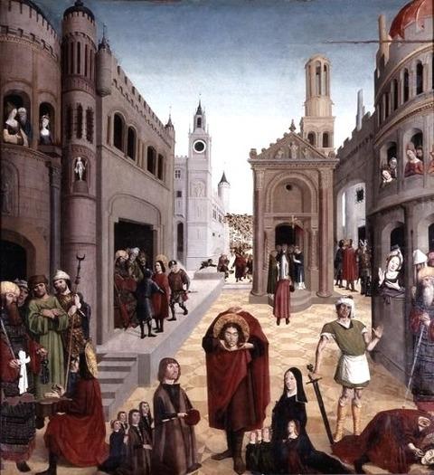 La Légende de saint Mitre