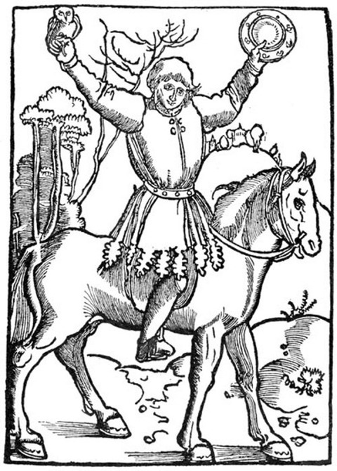 Woodcut from an edition of 1515, Straßburg