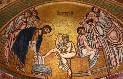 Hosios Loukas monastery Boeotia, Greece 11th