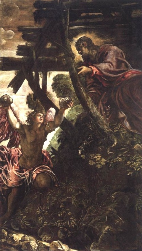 The Temptation of Christ - Tintoretto