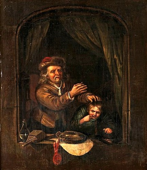 Gerrit Dou, follower of 1613-75
