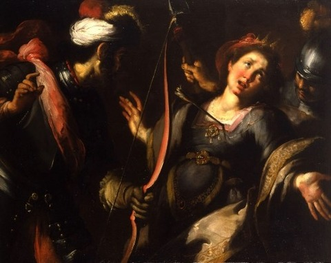 Bernardo Strozzi, The Martyrdom of Saint Ursula