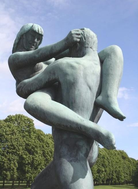 Sculpture Gustav Vigeland