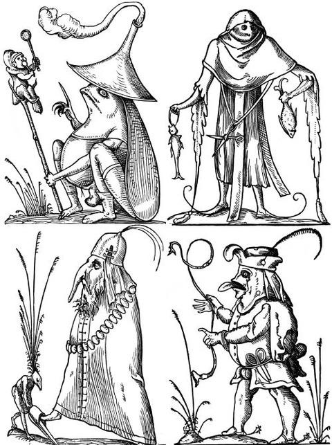 François Desprez - The Droll Dreams of Pantagruel (1565) 8