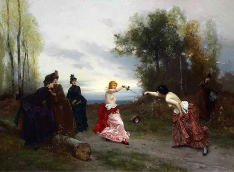 Emile-Antoine Bayard (1884) - An Affair of Honor