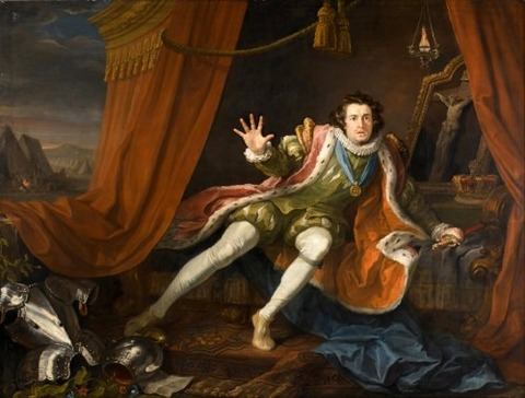 David Garrick as Richard III (1745)