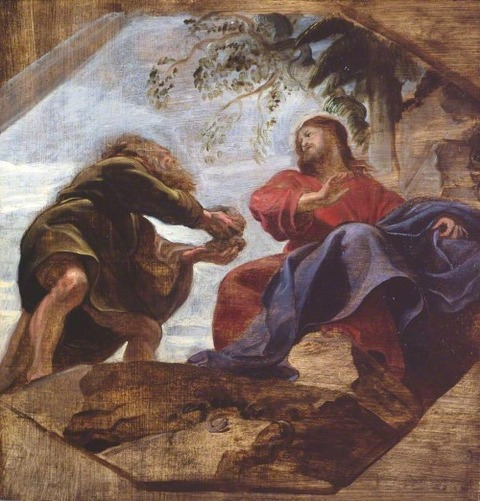 Temptation of Christ by Peter Paul Rubens  1620